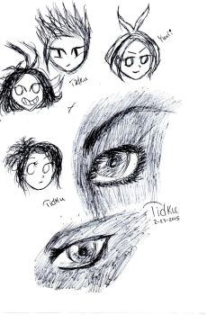 A Couple of Sketches by Tidku