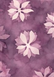 Watercolor texture - flowers by martinacecilia