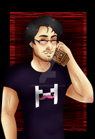 Markiplier-fanart by Mira-chii