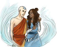 Kataang doodle by LilyScribbles