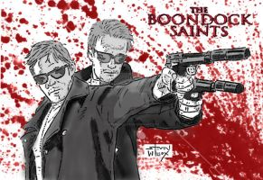 Boondock Saints color by StevenWilcox