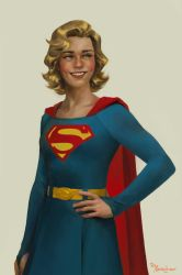 Silver Age Supergirl by merkymerx