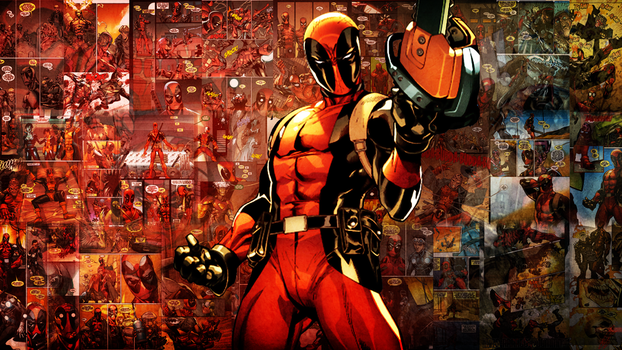 Wall' for a Friend - Deadpool (V1) - No Name by rymae