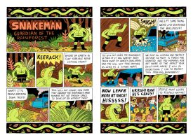 Snakeman - Guardian of the Rainforest by Teagle