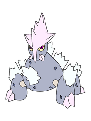 Fakemon Regional Gigalith Variant by EpicFail222