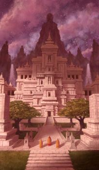 Temple by xygyology
