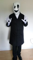 W.D. Gaster Cosplay 2 by Lundain