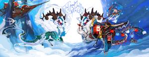 [LD] ADVENT-Day 25 - The Great Jolly Spirit by Sapphu-Adopts