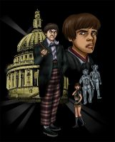 Doctor Who by The-Mirrorball-Man