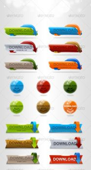 HQ Download Buttons by N0RTHWOOD