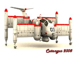 TILTING-WING V.T.O.L. CONCEPT by CUTANGUS