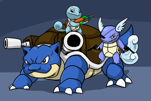 The Squirtle Family by Zerochan923600