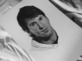 Lionel Messi WIP by stonedsour887