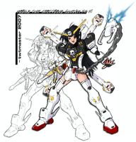 Mobile Suit Crossbone Girl by twtmaster