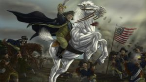 George Washington Tribute Painting by TheHylden