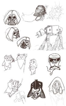 Sketches by PapiTrooper