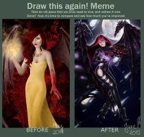 Draw it again - Succubus by Nyrine