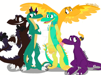 The Gang by SandyStobs