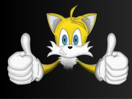 Tails's Thumbs-Up by kevkevharhar