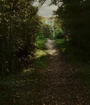 Forest Path 2 by TearsStock
