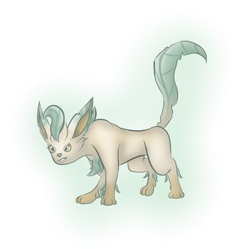 Commission: Spirit Leafeon (8/9) by Icedragon300
