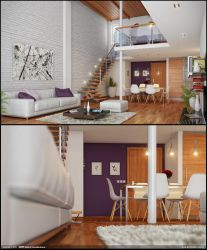 Modern Interior by diegoreales