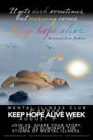 Keep Hope Alive Poster Concept by iochoa