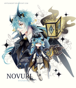 [closed] Adoptable auction NOVURI species by aritsuneart