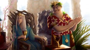 Kings of the two realms by Nassima by PhaethonGames