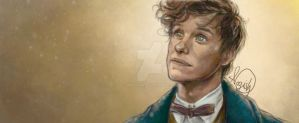 Newt Scamander by Namouah