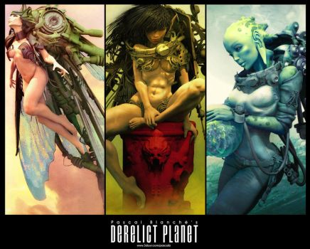 Derelictplanet_poster by pascalblanche
