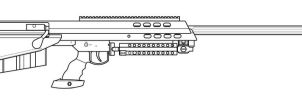 Barrett M95 by SkipperLee