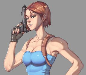 Jill Valentine - Resident Evil 3 costume by Mick-cortes