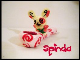 Spinda Pipe by malloryspipes
