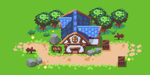 Pixel Dailie-118 Inn by bakudas