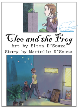 Cleo and the Frog (comic) by eltoNNNNNN