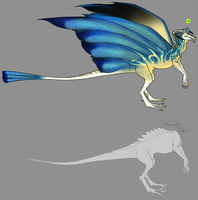 Shimmerhawk Auction - UNSOLD by Krovtymah