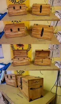 Two brothers - Beechwood chests by Durnstaros