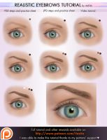 Realistic Eyebrows Tutorial by itaXita