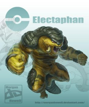 pokefusion (Electaphan) by MorganHowell