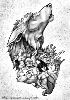 Tattoo Commission by KKylimos