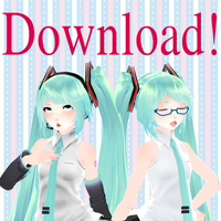 {MMDxVocaloid} TDA Default Miku v3 + Download! by HB-Squiddy