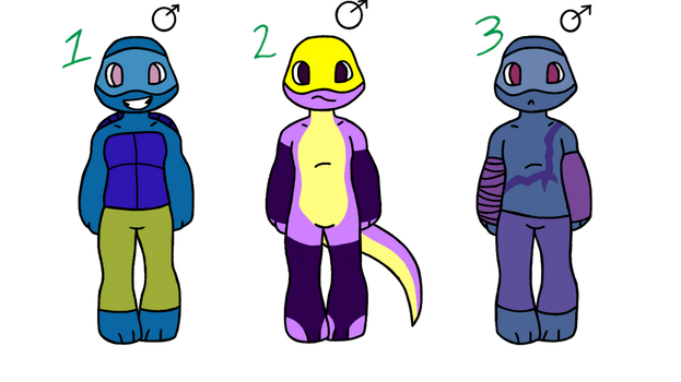 Oc's 4 sale (2) -OPEN- by lilmely