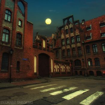 mysterious street by photo-earth