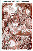 Wonder Woman 3D Anaglyph by xmancyclops
