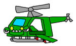 Mixels: 50 Fatal Ways: Military Copter by Luqmandeviantart2000