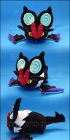 Stacking Plush: Small Noivern - Pokemon by Serenity-Sama