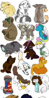 Christmas Chibi Requests (Part 2) 2016 by Icedog-McMuffin