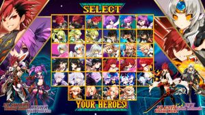 Elsword: Clash of Super Warriors Character Select by MikeCrossCG