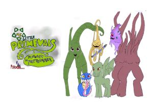 my little primevals: mlp parody by puticron